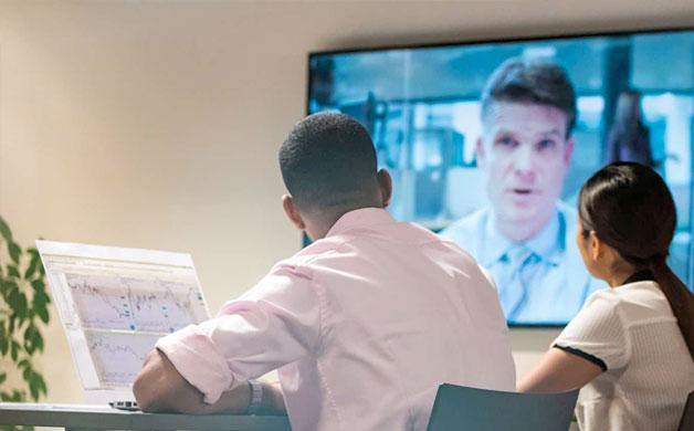 STATE-OF-THE-ART AV TECHNOLOGY THAT IMPROVES MEETINGS