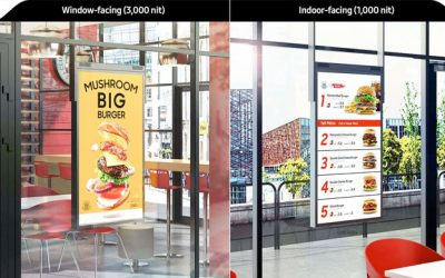 Samsung Launch Semi-Outdoor Digital Signage Solution