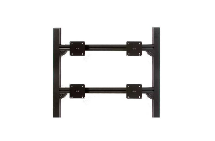 4 screen wall mount